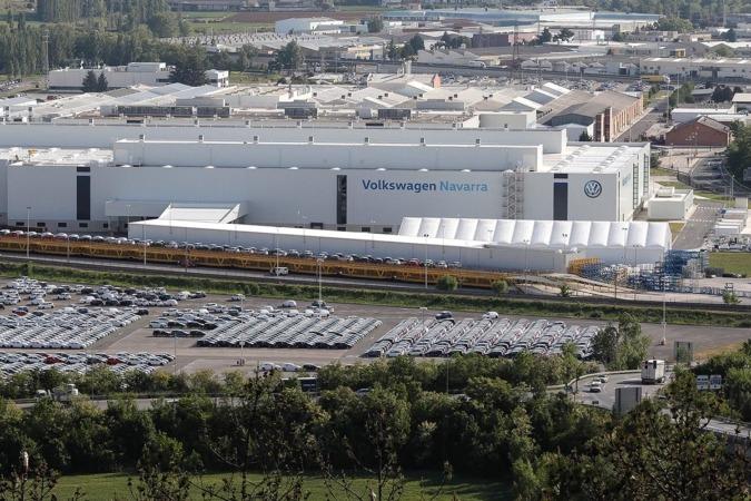 Planta de Volkswagen Navarra, landaben, polo, vw,