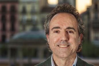 Alberto Moreno es presidente del Colegio desde 2012.