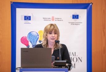 Ana Ollo, consejera de Relaciones Institucionales.