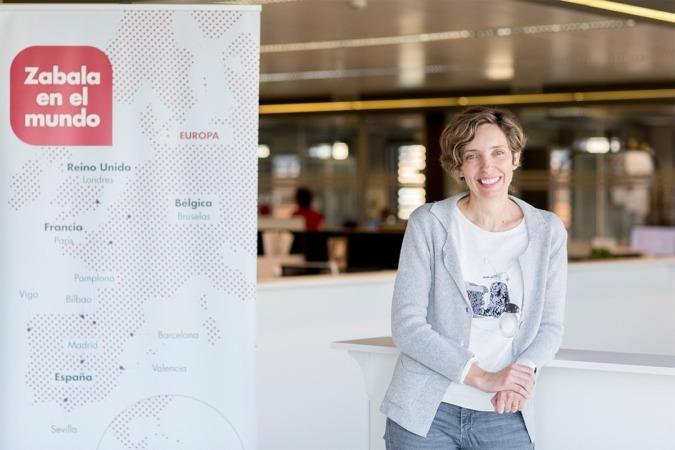 Blanca Rodríguez, responsable de proyectos  internacionales de ZABALA Innovation Consulting (FOTO: Ana Osés)