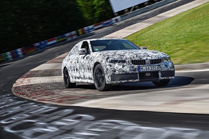 Una imagen de las pruebas que ha tenido que superar el próximo BMW 3