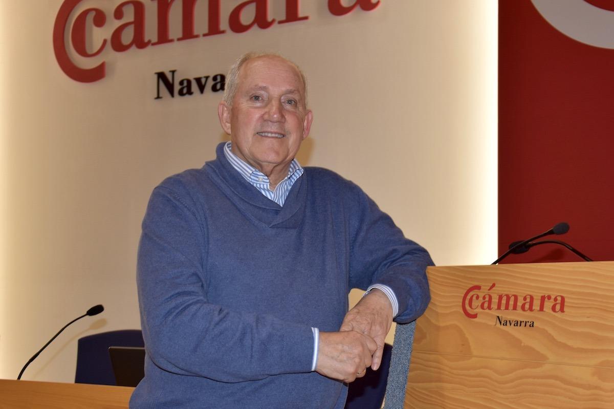El catedrático y doctor en Psicología, Emilio Garrido, en Cámara Navarra.