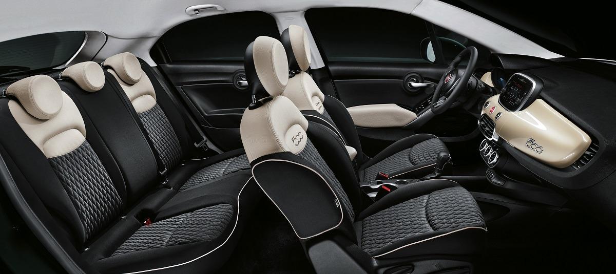 FIAT 500X interior 2