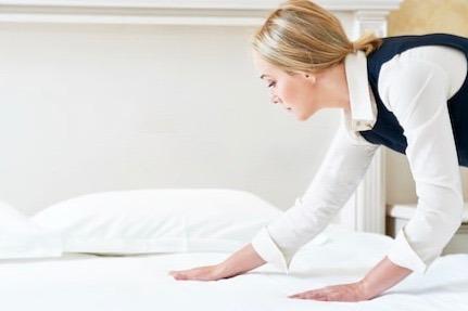 Hotel-Servicio-Trabajo-Cama