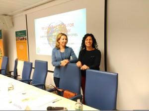 Montse Guerrero y Laura Alba Bruselas
