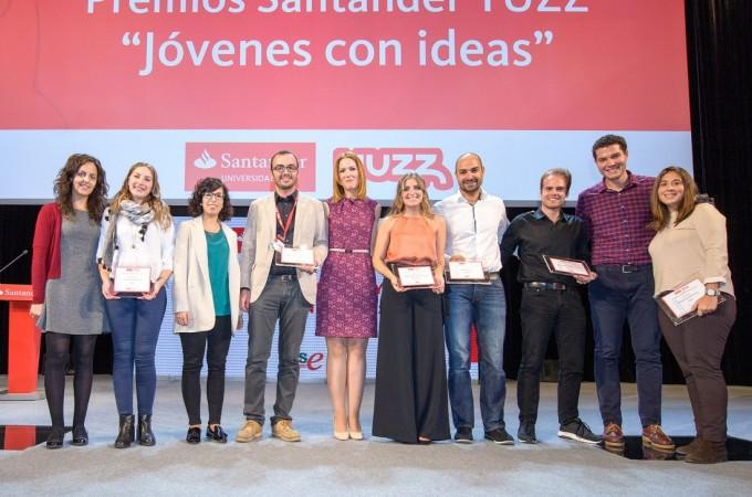 Una start up biotech de Navarra, premio Santander YUZZ 2016