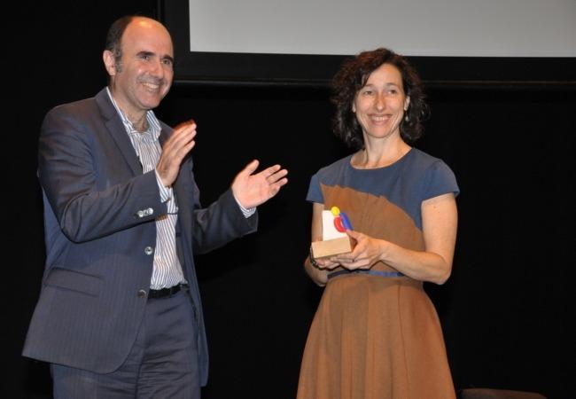 Belén Hernández Premio AEDIPE Navarra 2016
