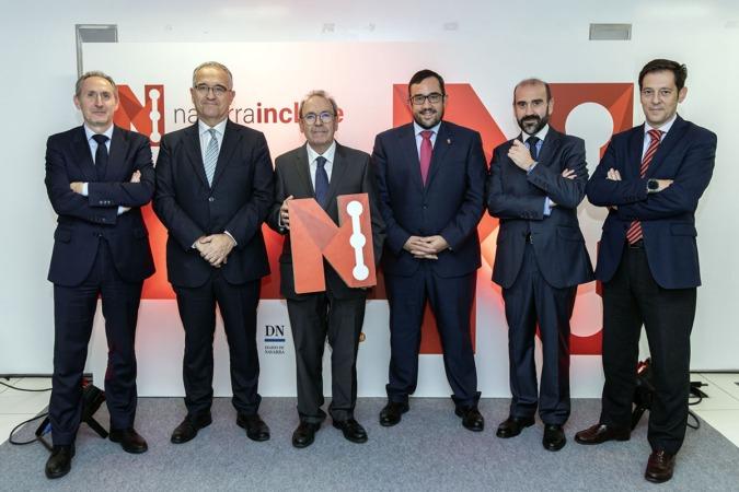 José Manuel Erro, Enrique Maya, Virgilio Sagüés, Javier Remírez, Jon Patxi Lerga y Pablo Frauca.