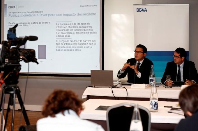 BBVA prevé la creación de 10.000 empleos en Navarra hasta fin de 2017