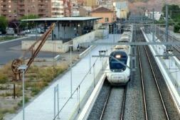 Vista panorámica de la estación intermodal de Tudela. (FOTO: Germán Pérez)