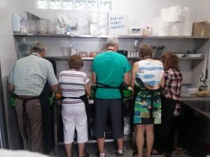 Voluntarios en Villa Javier