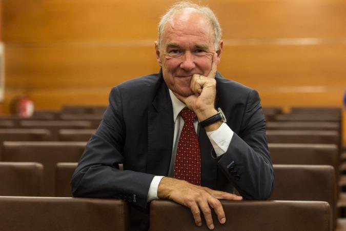 Albert Peters, fotografiado en la sede de la CEN.