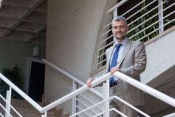 Alfonso Carlosena, rector de la Universidad Pública de Navarra.