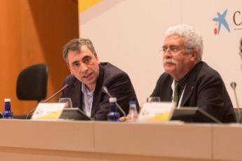 Alfredo Arbeloa y José Pío Beltrán