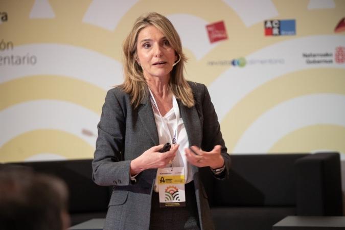 Rosa Gallardo, directora de la ETSIAM de la Universidad de Córdoba.
