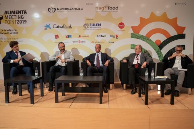 De izda. a dcha.: Fernando Martínez, Manel Domínguez, Leonarlo Álvarez, Francisco Requena y Emilio Anglés.