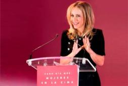 La presidenta de FEDEPE, Ana Bujaldón, primera invitada a los Desayunos Empresariales de NavarraCapital.es en 2019.
