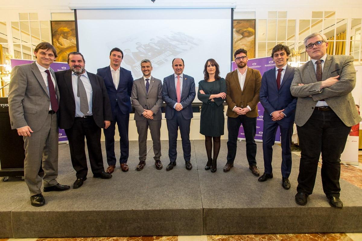 Más de 200 personas arroparon la presentación del Anuario Navarra Capital 2017 y de los Líderes del año. (FOTOS: VÍCTOR RODRIGO Y OSKAR GONZÁLEZ)