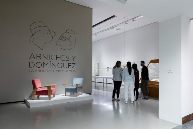 Expisoción 'Arniches y Domínguez. La Arquitectura y la Vida'  en el Museo ICO.