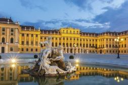El Palacio de Schönbrunn es conocido como el Versalles vienés.