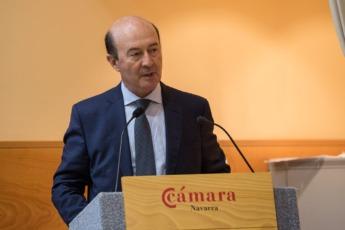 Miguel Iraburu durante la presentación del Barómetro de los Círculos.