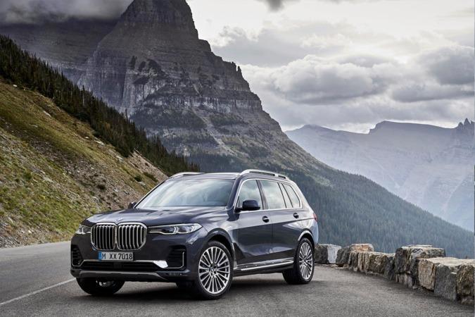 Imagen promocional del nuevo BMW X7