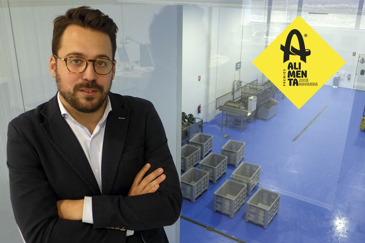 Gonzalo Agorreta, gerente de Brotalia.