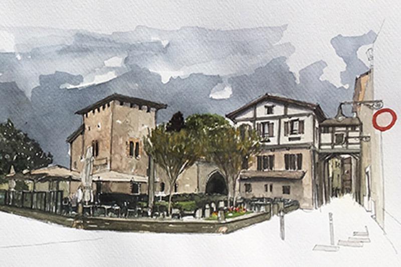 La exposición 'Paisajes urbanos con y sin arena' se podrá ver en ArteA2 a partir del 14 de septiembre.