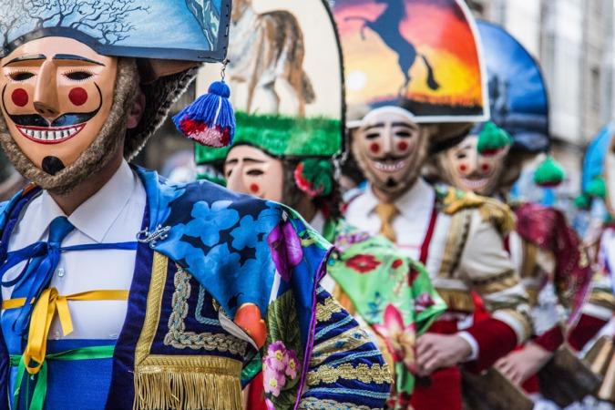 Febrero arranca con una gran variedad carnavales, el de Verín entre ellos. (Foto: Carlos Montero, Concello de Verín)