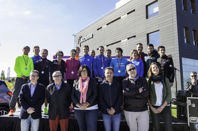Cerca de 150 corredores y 35 empresas completan la 'I Carrera de Empresas por la Innovación'