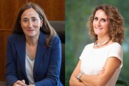 Gabriela Uriarte y Charo Sádaba, las dos navarras entre las mujeres más influyentes de España.