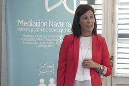 Amaya Sanz, Mediación Navarra