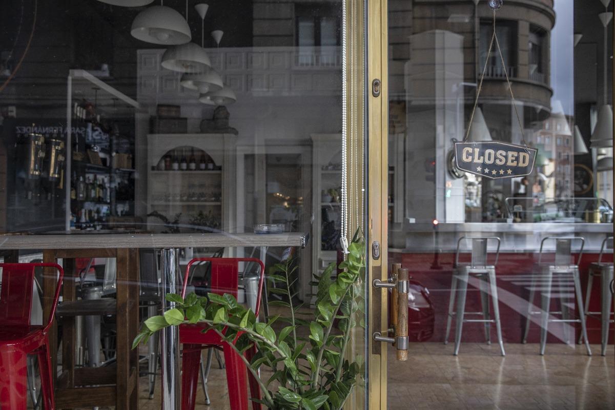 Los bares y restaurantes se vieron obligados a parar su actividad mientras dure el estado de alarma.