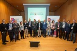 Ponentes en el Congreso de Contabilidad Social celebrado en Baluarte. (Fotos: Victor Rodrigo)