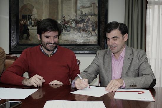 Eneko Larrarte e Ignacio Ugalde