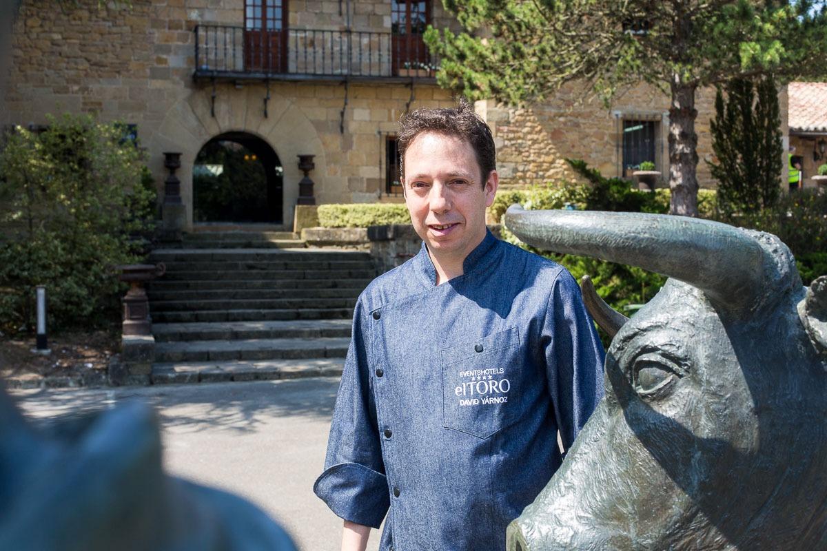 David Yárnoz en el Hotel El Toro de Pamplona
