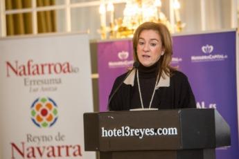 Ana Lizarraga en su intervención