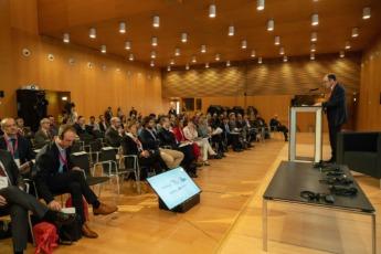 Un total de 14 empresas francesas y 69 navarras han mantenido un total de 125 encuentros empresariales a lo largo del día.