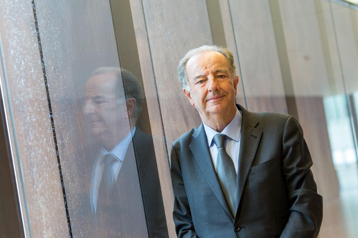 Eduardo Abadia, director gerente de la Asociación Española de Franquiciadores en una pausa del reciente EmprendeFranquicia. (FOTO: Víctor Rodrigo).