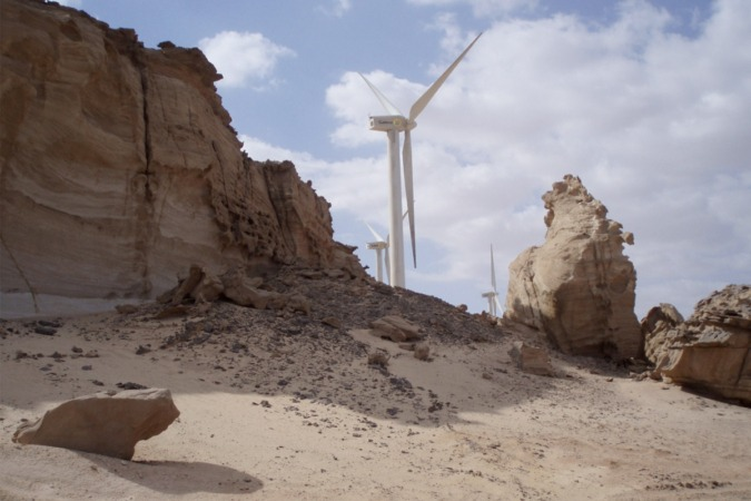 Las exportaciones de Navarra a Egipto se incrementaron entre 2015 y 2016 en un 364%. De ellas un 95% fueron bienes de equipo vinculados al sector eólico.