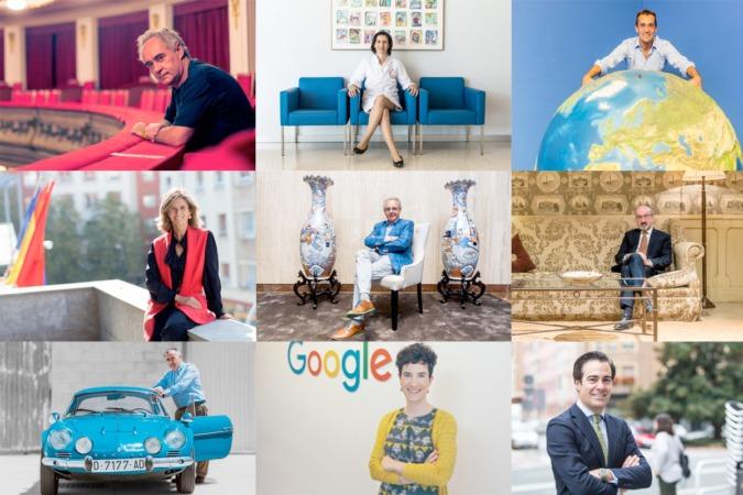 Protagonistas de las Entrevistas de Trabajo de este 2017