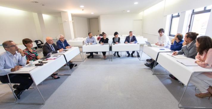 La sesión se celebró en las instalaciones de Cámara Navarra.