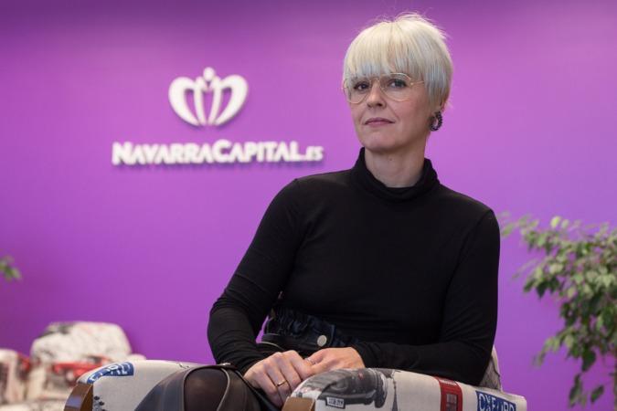 Eva Perujuániz es socióloga experta en temas de economía y colaboradora habitual de NavarraCapital.es. (Fotos: Víctor Rodrigo)