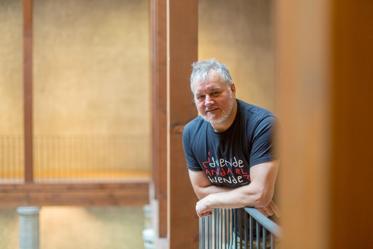 Miguel Morán, organizador de Flamenco On Fire (Foto: Víctor Rodrígo).