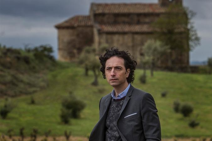 """Andrés Pascual señala que La Rioja """"es una joya, todo autor sueña con una localización así""""."""