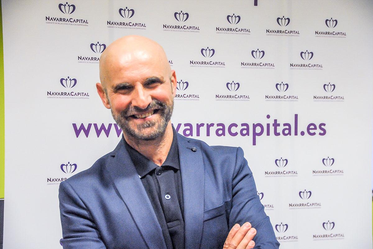 Imagen de Germán Pérez, nuevo delegado de 'navarracapital.es' en Tudela.