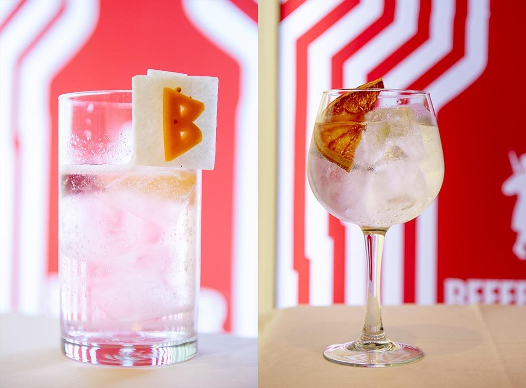 Gin tonics de Fracisco Javier Serrano Arriazu e Iñaki Garbayo. (Foto: Roberto Lechado)