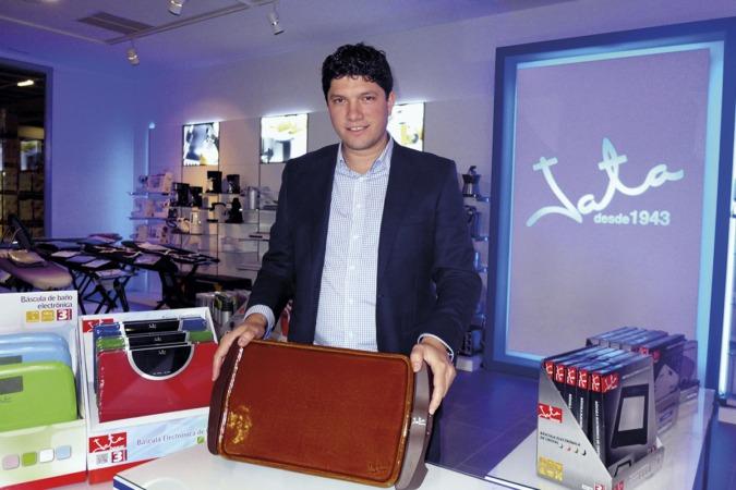 Guillermo  Garcia, director general de electrodomésticos Jata. (FOTOS: Germán Pérez).