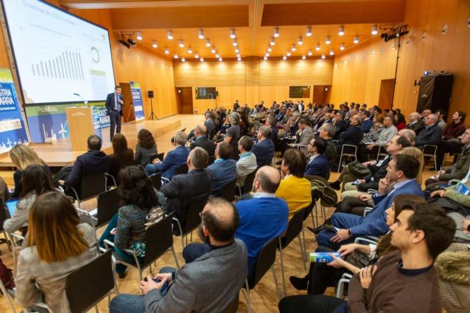 Unas 200 personas acudieron a la primera jornada del Industria Navarra Summit.