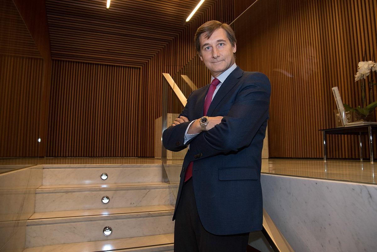 Iñigo Eugui, en su empresa. FOTO: (David Muñiz)